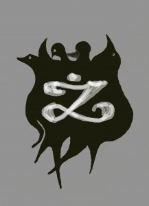 Andrzej Żmudzki, aka Andy Zmudzki, has created this coat of arms for his son, Marcin, in the early 21st century. It reminds us about ghosts of the past, but also seems to emphasize that the Ż is clear and should be preserved with pride. LIke the sign of Zorro, it will inspire us to be bold and do the right thing. Dr, Andrzej Żmudzki, a retired mental health therapist, has received a top award at a Falls Church art show for his other works in recent years.